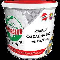 ANSERGLOB Краска акриловая ФАСАД ЭКО+, 14 кг