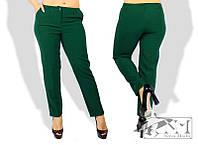 Женские модные брюки - большие розмеры КМ042 (бат)