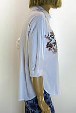 Жіноча сорочка-блузка з вишивкою, фото 3