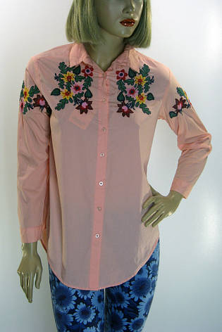Жіноча сорочка з вишивкою Comlex, фото 2