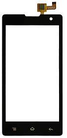 Тачскрин (сенсор) Gigabyte GSmart Classic Lite, black (чёрный)