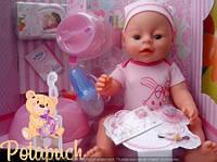Детская кукла интерактивная пупс Baby Born BL009D