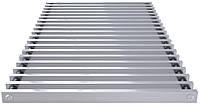 Решетка дюралюминиевая для внутрипольного конвектора  POLVAX 1500х160