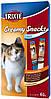 42719 Trixie Creamy Snacks лакомство в виде крема для кошек, 6шт/15гр