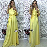 Женское красивое платье в пол (расцветки) РК178