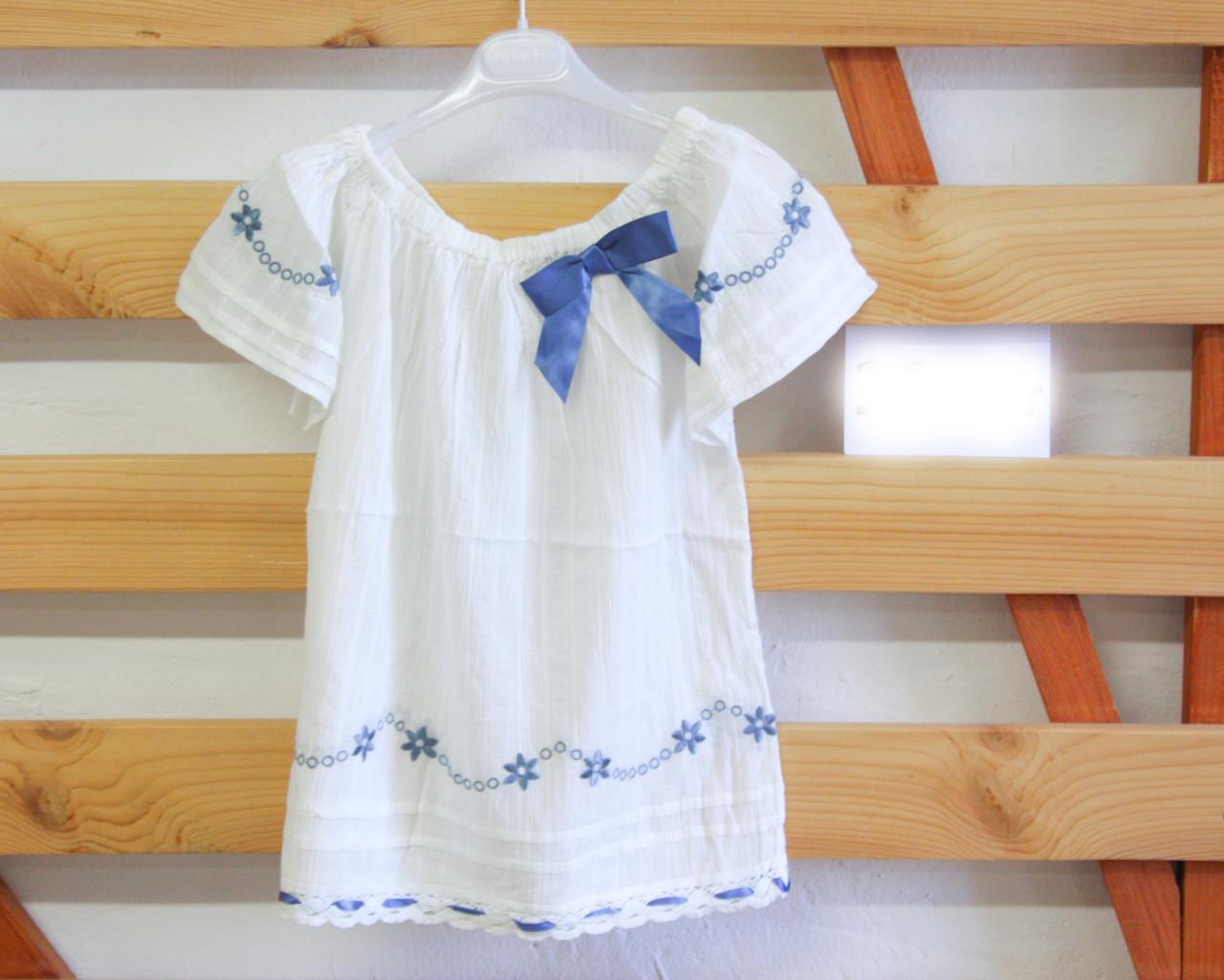 Летняя блуза для девочки подростка Gaialuna