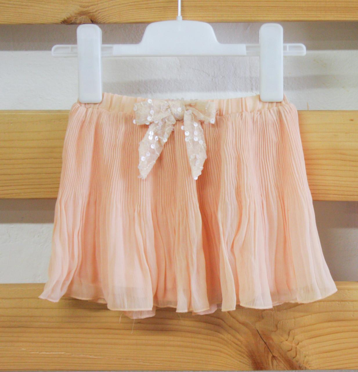 Нарядная юбка плиссе для девочки Gaialuna