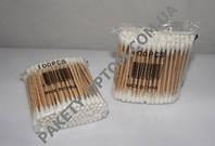 Ушные палочки деревянные 100 шт