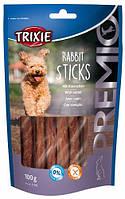 31709 Trixie Premio Rabbit Sticks палички з кроликом, 100 гр