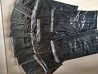 Защитная маска черная 4-х слойная с активированным углем