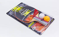 Набор для настольного тенниса Kepai 2138 2 Star: 1 ракетка + 2 мяча