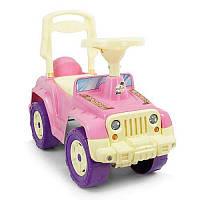 Машинка-каталка 549 Орион, розовый