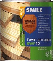 SWP-10-0.7л Грунт для дерева антисептирующий «SMILE WOOD PROTECT»