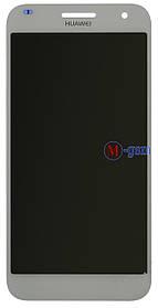 LCD модуль Huawei Ascend G7 белый
