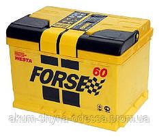 Аккумулятор Forse 6СТ-60АзЕ правый +
