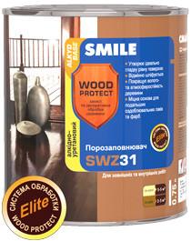 SWZ-31-2.3л Порозаполнитель  алкидно-уретановый «WOOD PROTECT Elite»