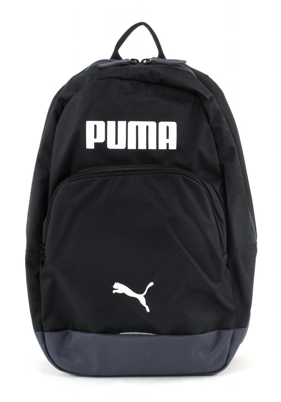 Рюкзак спортивный PUMA Essential Backpack Black-White 074382 01 пума