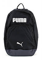 Рюкзак спортивный PUMA Essential Backpack Black-White 074382 01 пума