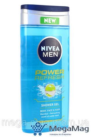 Гель для душа NIVEA for Men Power Refresh 250мл, фото 2