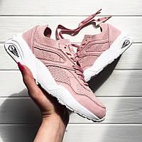 Женские кроссовки Puma R698 Trinomic Soft Pink