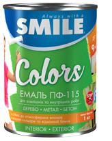 ПФ-115-0,9кг Эмаль «SMILE» для наружных и внутренних работ
