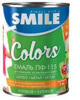 ПФ-115-2,8 Эмаль «SMILE» для наружных и внутренних работ
