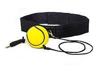 "Fight ball (Файтбол, файт бол) ""Профи"" - каучуковый мяч тренажер-эспандер для развития ловкости"