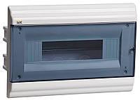 Щит пластиковый ЩРВ-П-12 модулей внутренний, 210х306х102, IP41 PRIME, MKP82-V-12-41-10, ИЭК
