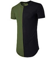 Мужская удлиненная футболка Хип-хоп