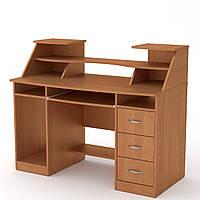 Стол компьютерный Комфорт-5 ольха Компанит (127х65х104 см), фото 1