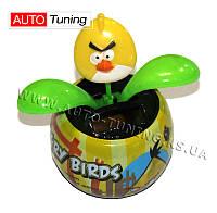 "MASTER GAME - Игрушка на солнечных батарейках Flip Flap, ""Злая Птичка"" из серии Angry Birds, Yellow"