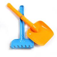 Песочный набор для ребенка (лопатка+грабли)