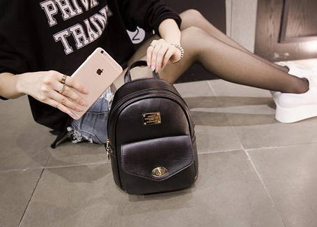 Стильный городской рюкзак для модных девушек, фото 2