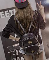 Стильный городской рюкзак для модных девушек, фото 3