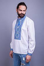 Мужская вышитая сорочка на 3 нити , фото 2