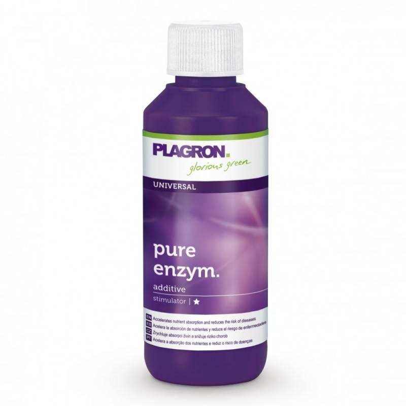 PLAGRON Pure Enzym 100ml удобрение для улучшения плодородия почвы. Оригинал. Нидерланды.