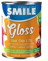 ПФ-170-0,7кгЛак Smile для деревянных поверхностей, изделий из алюминия и других металлов