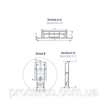 Стойка бортовая (BHS 600 K300), фото 2