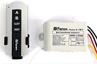 Дистанционный выключатель Feron ТМ75 на 2 канала