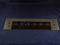 Верхняя стеклянная панель плиты Грета 498х128 мм. (2)