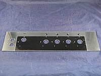 Верхняя стеклянная панель плиты Грета 498х128 мм. (3)