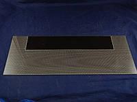 Нижняя стеклянная панель плиты Грета 498х200 мм. (коричневая)