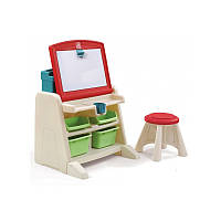 Детский столик для творчества - Step 2 - США - можно использовать как мольберт или как парту