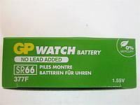 Батарейка GP SR66 377F G4 коробочка 1.55V