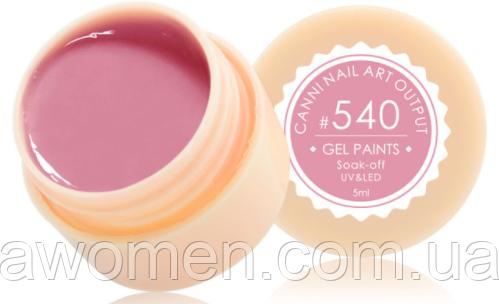 Гель краска Canni № 540