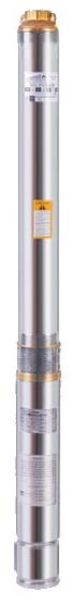 Погружной скважинный бытовой насос Euroaqua 75QJD 110–0.25 + контрольбокс