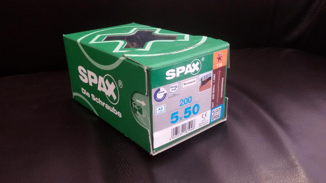 Саморез Spax 5х50 упаковка 200 штук