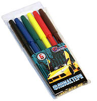 Фломастеры Josef Otten 6 цветов  Sport Car 828-6Z