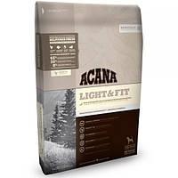 Acana LIGHT & FIT - корм для собак с избыточным весом Heritage Formula 65/35/0  2.0 кг