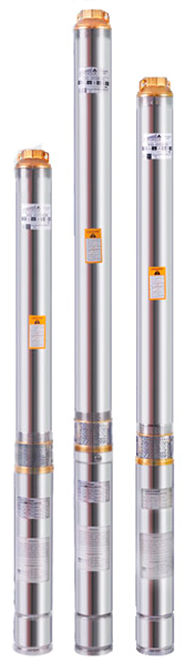 Скважинный бытовой насос Euroaqua 100QJD208–1.5